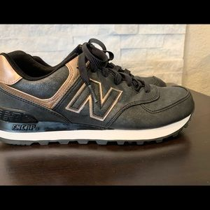 New Balance sneakers  Pewter/Rose Gold